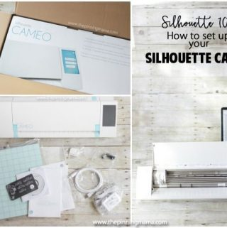 Silhouette 101: How to Set Up Your Silhouette CAMEO