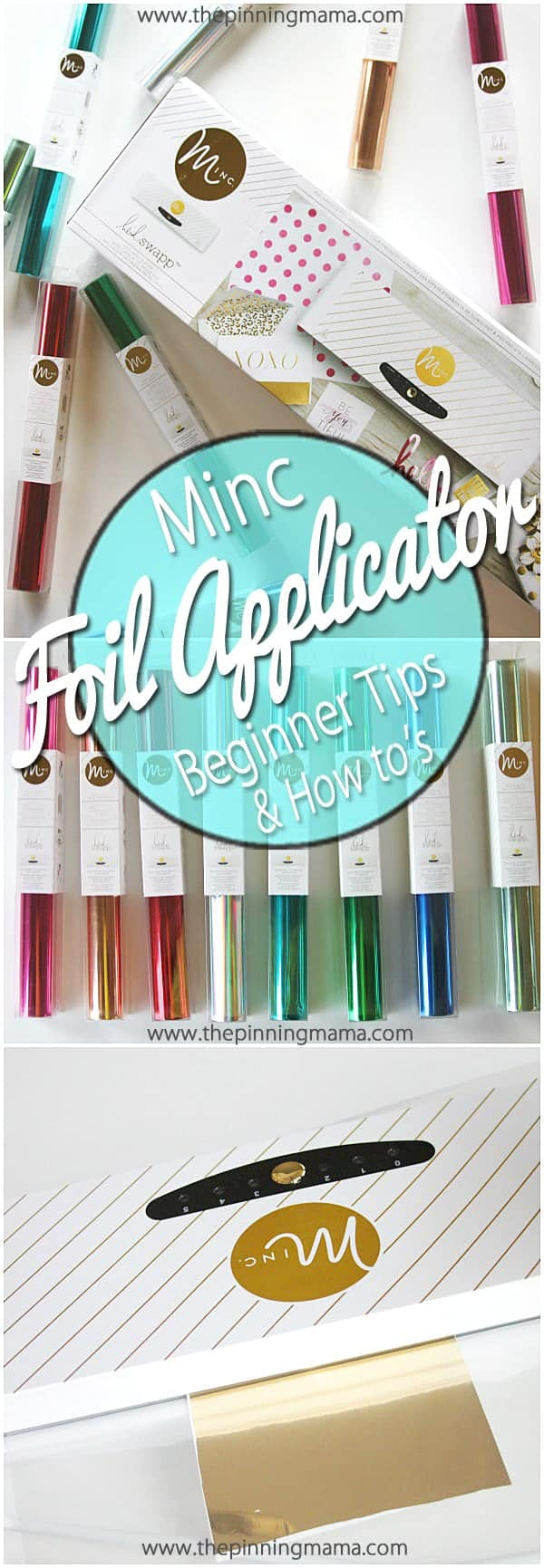 How to use the Heidi Swapp Minc Foil Applicator- Beginner tips and tricks to get the best results and avoid common mistakes!