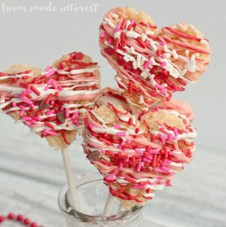 Valentine's Day Heart Pops
