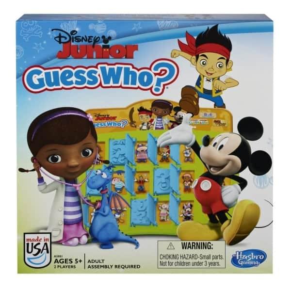 Board Games for Preschoolers: Disney Jr Guess Who