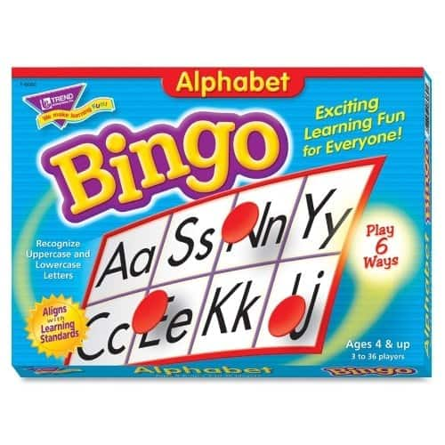 Board Games for Preschoolers: Bingo