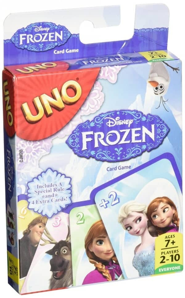 Board Games for Preschoolers: UNO