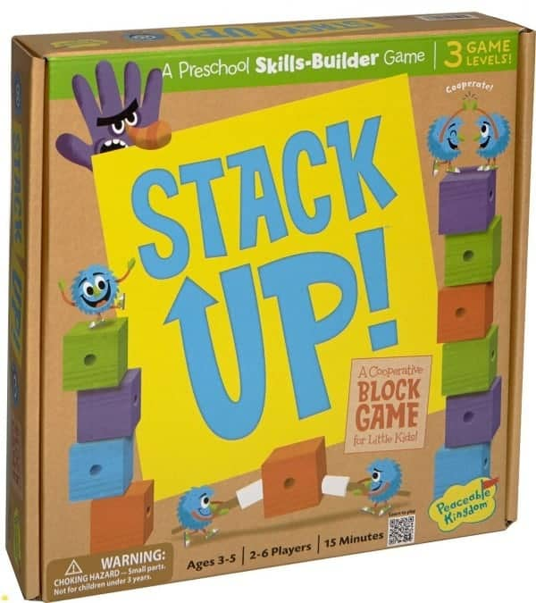 Board Games for Preschoolers: Stack Up