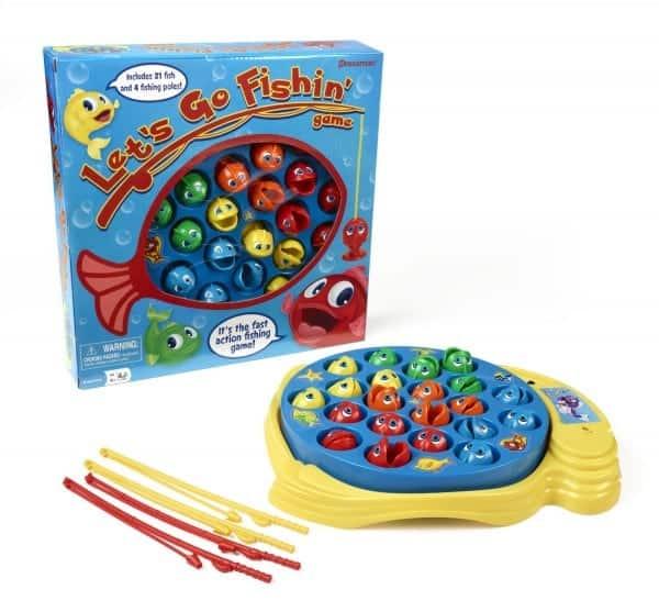 Board Games for Preschoolers: Fishing Game