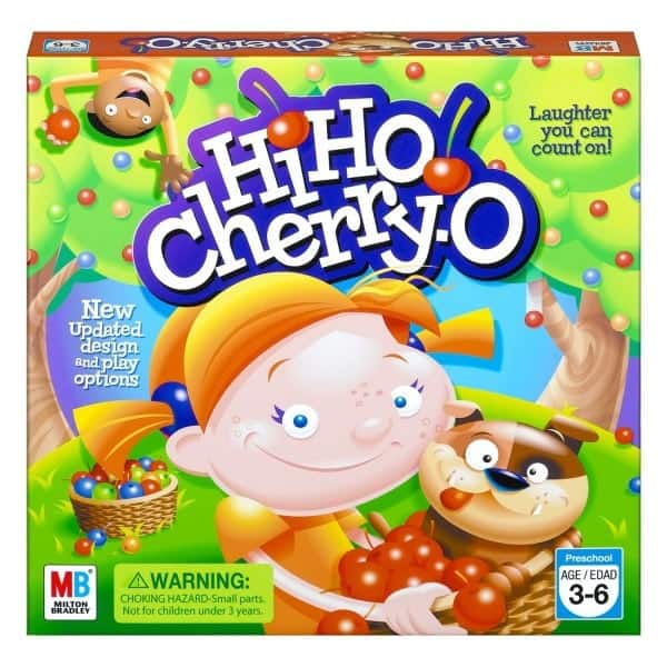 Board Games for Preschoolers: Hi Ho Cherry O