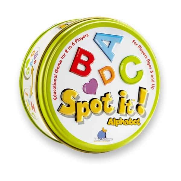Board Games for Preschoolers: Spot It