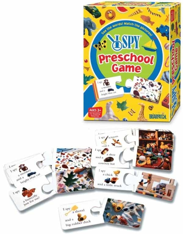 Board Games for Preschoolers: I Spy