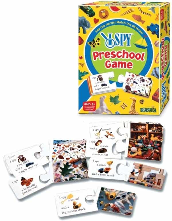Board Games for Preschoolers: I Spy
