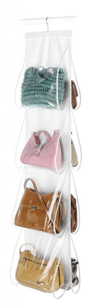 Organize a Closet: Handbag File