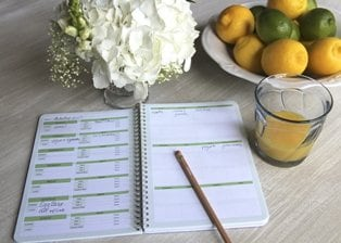 Planners to make meal planning easy: My Menu Weekly Meal Planner