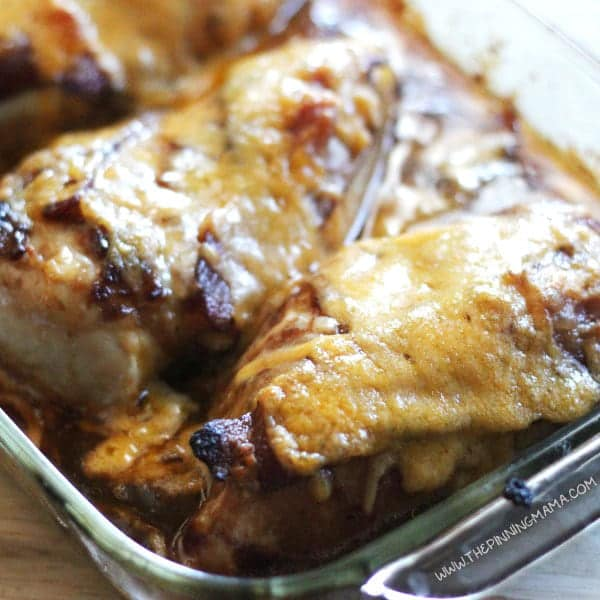 Barbecue Bacon Chicken Bake One Dish Easy Dinner Recipe The