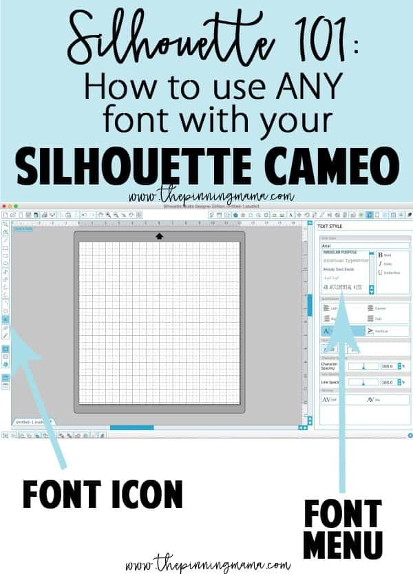how to use a new font that you download