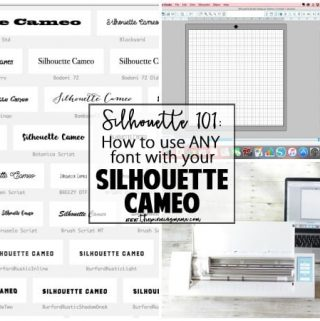 How to Add Fonts to Silhouette Studio