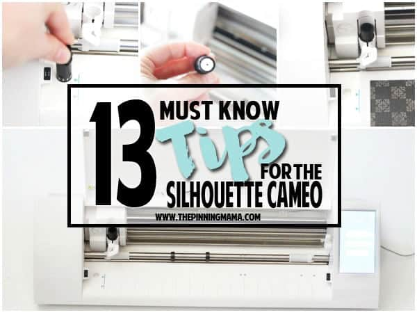 13 Must Know Tips For Silhouette Beginners The Pinning Mama