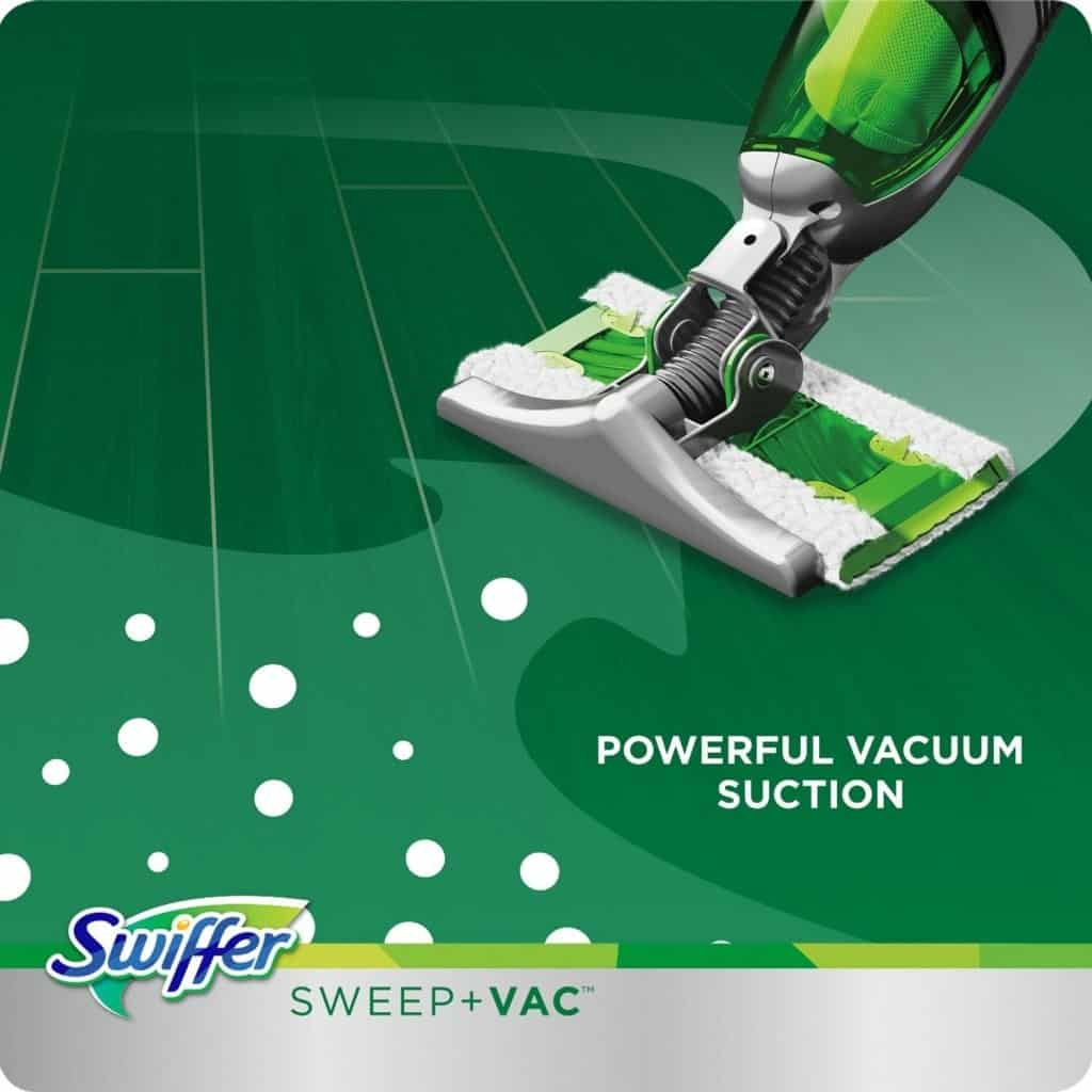 10+ Simple Things to Help Kids Clean: Swiffer Sweep Vac - www.thepinningmama.com