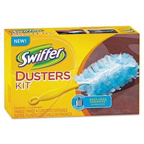 10+ Simple Things to Help Kids Clean: Swiffer Duster - www.thepinningmama.com