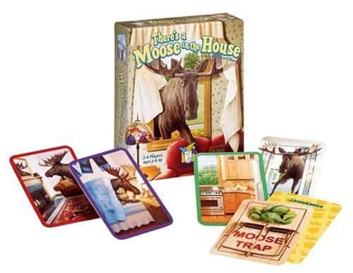 10+ Awesome Card Games for Kids : There's a Moose in the House | www.thepinningmama.com