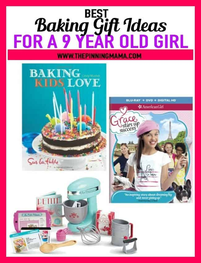 Best Gift Ideas for a 9 year old girl who loves to cook!