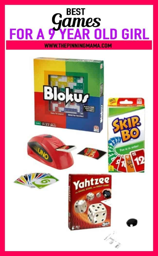Best Gift Ideas For A 9 Year Old Who Loves Games Includes Blokus Card