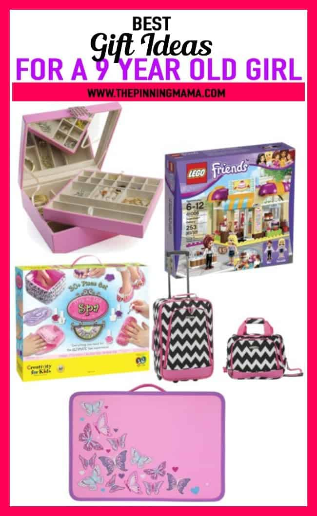 Best Gift Ideas for a 9 year old girl- see 25+ of the best gift ideas for birthday or Christmas and anything in between