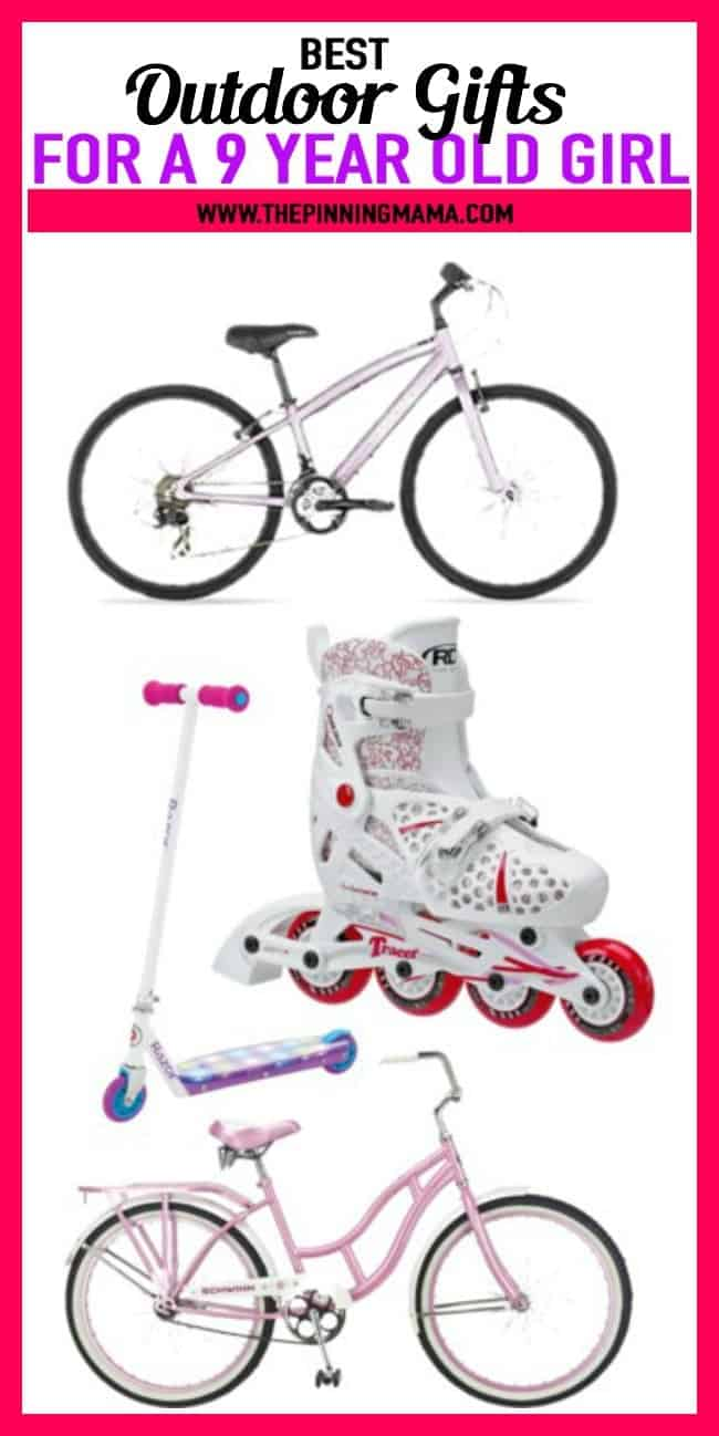 BEST Gift Ideas For A 9 Year Old Who Loves To Play Outside Includes Bikes