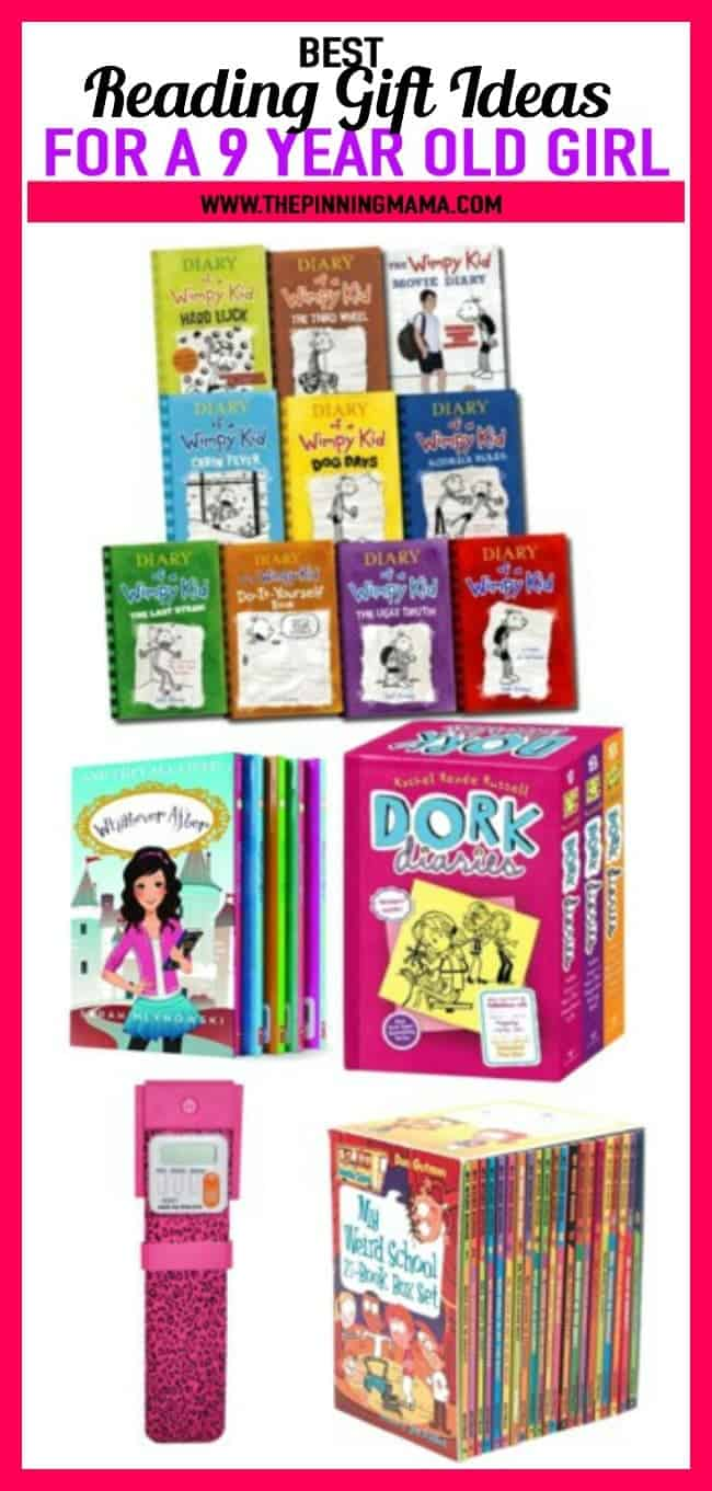 Best Ideas For A 9 Year Old Girl Who Loves To Read Includes Diary Of