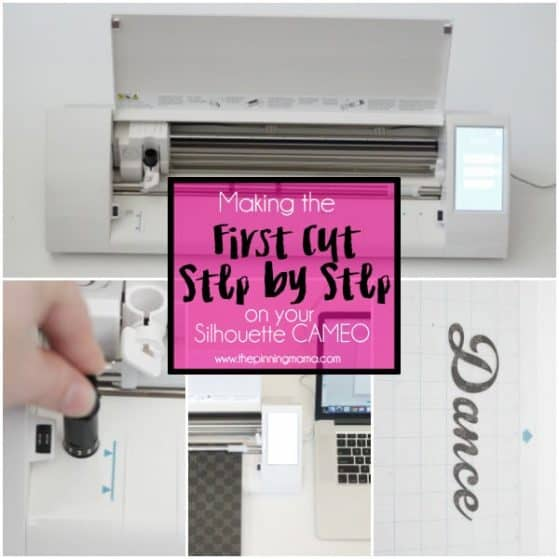 Your First Cut with the Silhouette CAMEO- Step by Step Instructions
