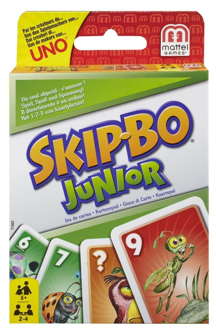 10+ Awesome Card Games for Kids :Skip Bo Junior | www.thepinningmama.com