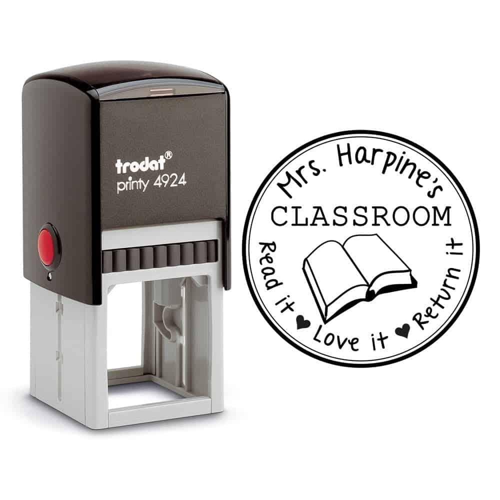 10+ Smarter Gift Ideas Teachers will Love: Teacher Classroom Label | www.thepinningmama.com