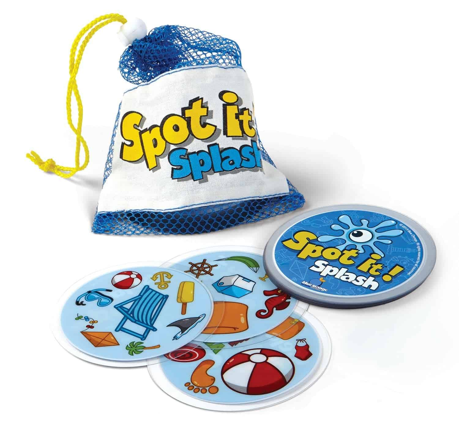 10+ Best Games and Toys for a Fun Day at the Beach: Spot It Splash| www.thepinningmama.com