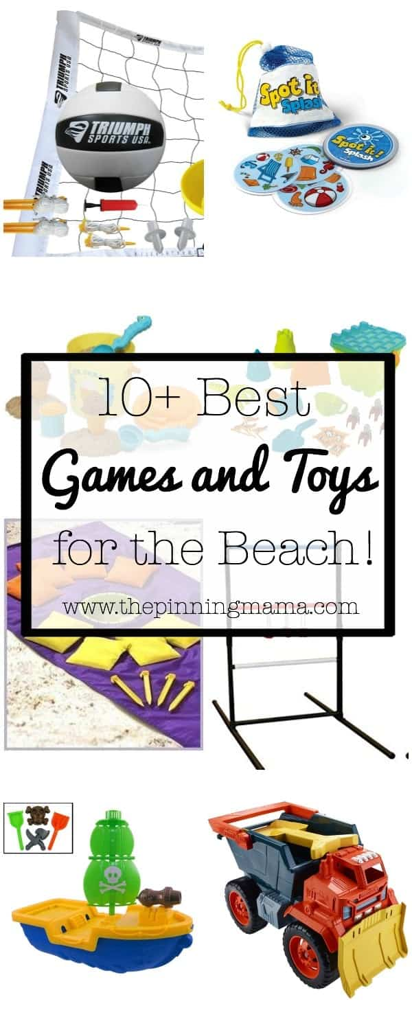 10+ Best Games and Toys for a Fun Day at the Beach  www.thepinningmama.com