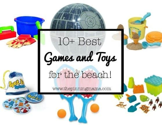 10+ Best Games and Toys for a Fun Day at the Beach| www.thepinningmama.com