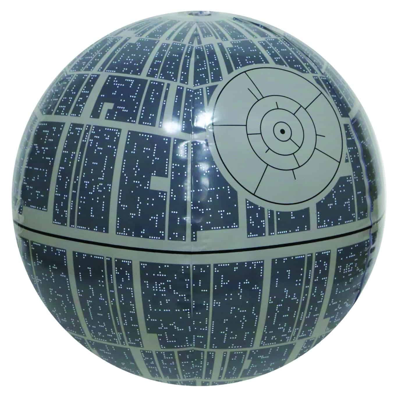 10+ Best Games and Toys for a Fun Day at the Beach: Death Star Beach Ball | www.thepinningmama.com