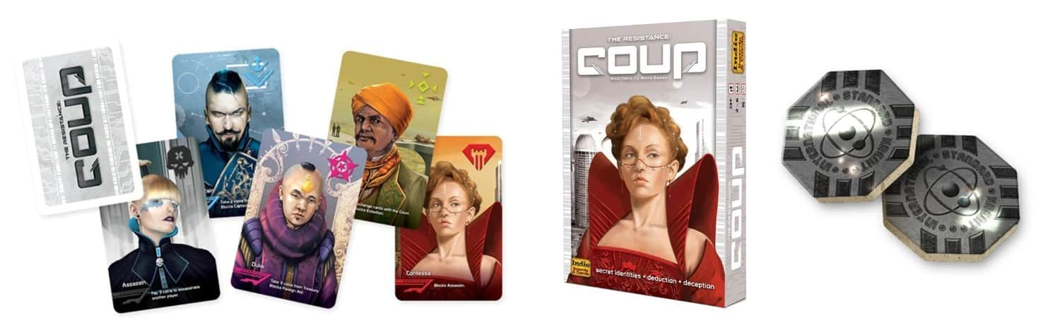 10+ Amazing Card Games for your Family: Coup | www.thepinningmama.com
