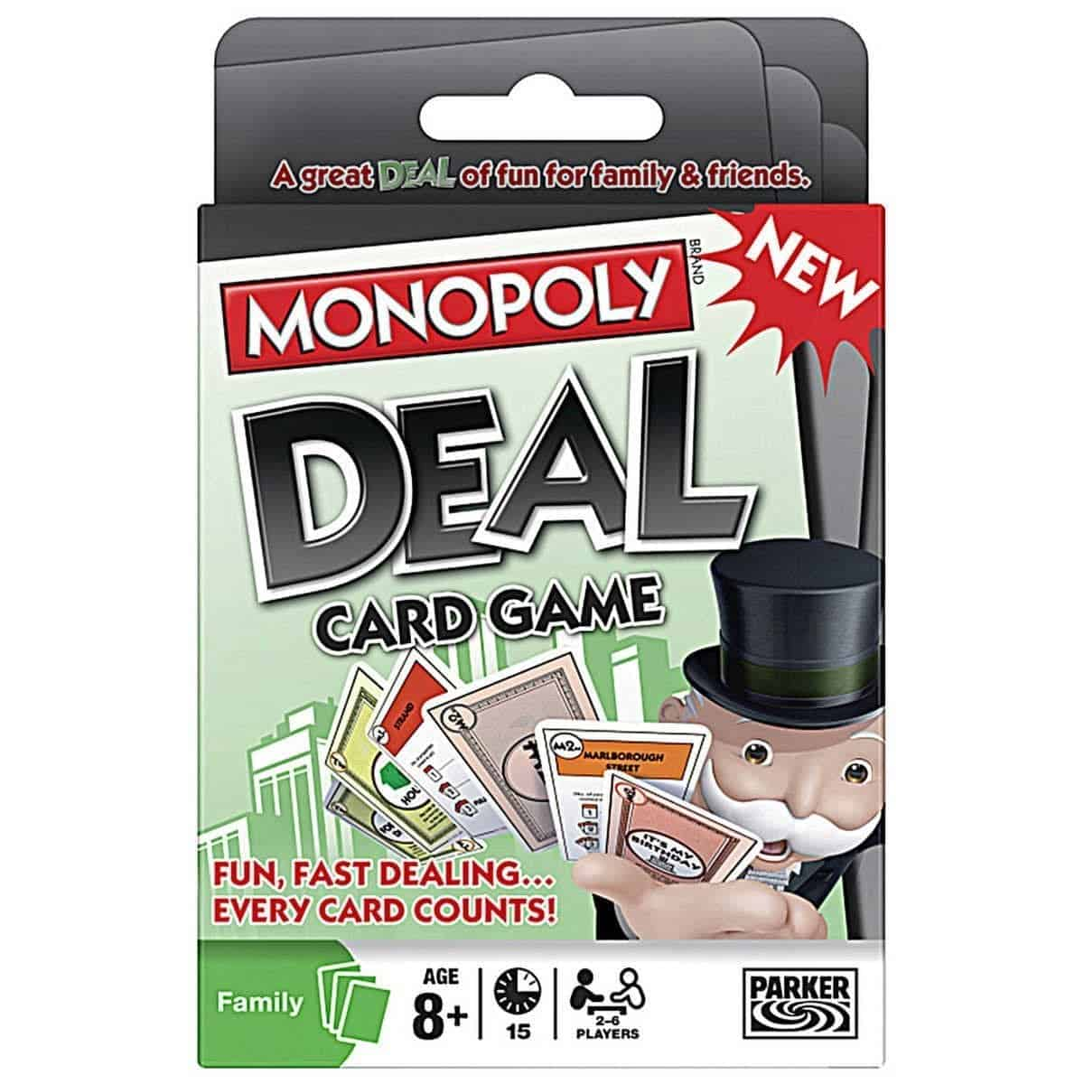 10+ Amazing Card Games for your Family: Monopoly Deal | www.thepinningmama.com