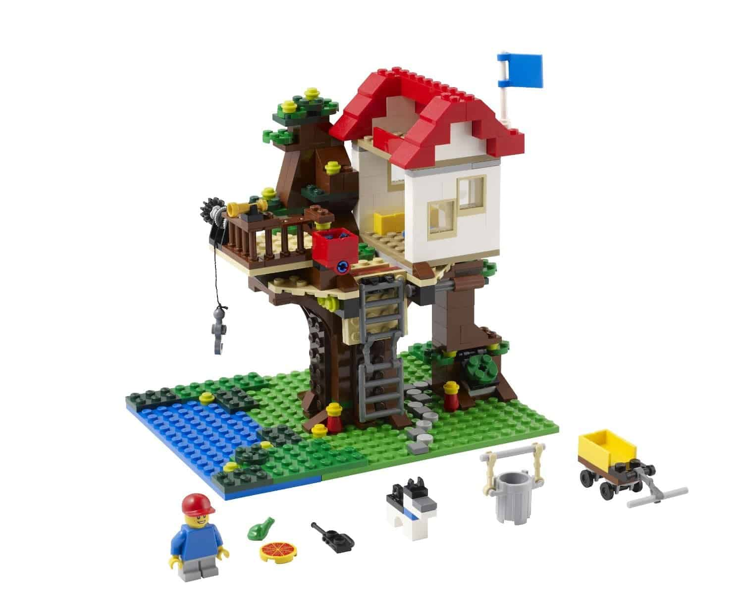 Lego Gift Ideas by Age - Toddler to Twelve Years: Treehouse | www.thepinningmama.com
