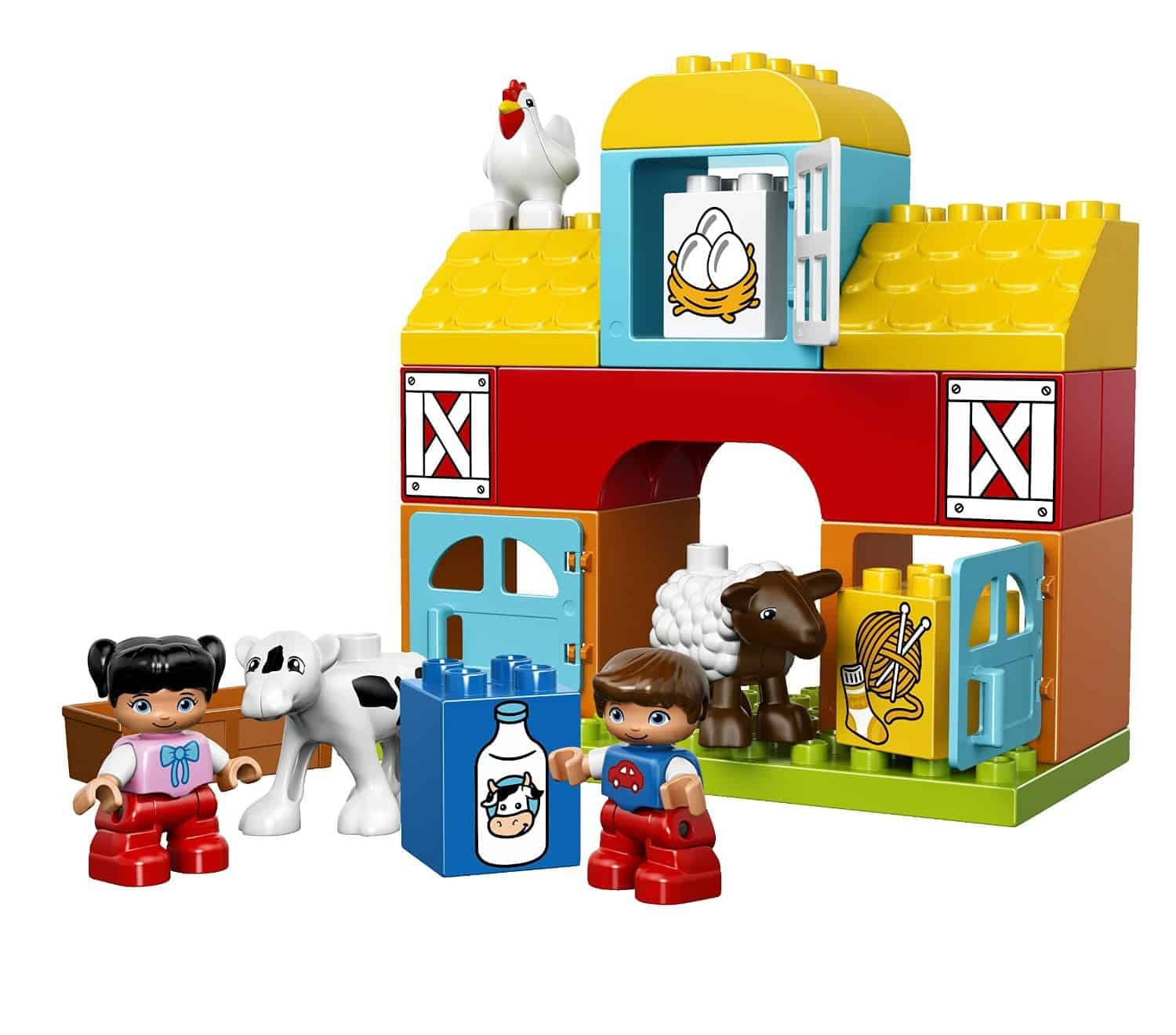 Lego Gift Ideas by Age - Toddler to Twelve Years: My First Farm | www.thepinningmama.com