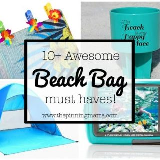 10+ Things you MUST Pack in your Beach Bag