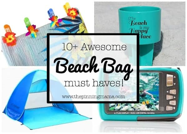 10+ Things you MUST pack in your beach bag!