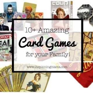 10+ Amazing Card Games for your Family