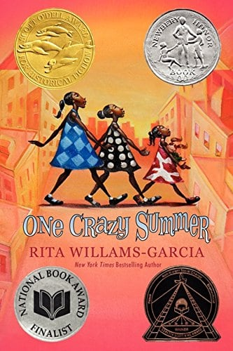 10+ Top Books for Kids to Read this Summer: One Crazy Summer | www.thepinningmama.com