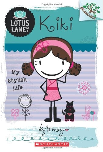 10+ Top Books for Kids to Read this Summer: Kiki: My Stylish Life| www.thepinningmama.com