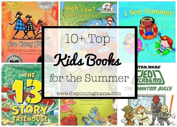 10+ Top Books for Kids to Read this Summer| www.thepinningmama.com