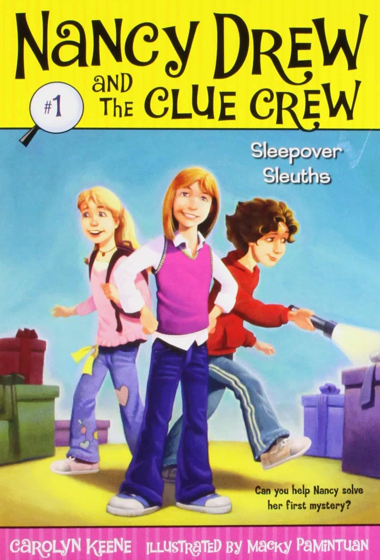 10+ Top Books for Kids to Read this Summer: Sleepover Sleuth Nancy Drew Clue Crew | www.thepinningmama.com