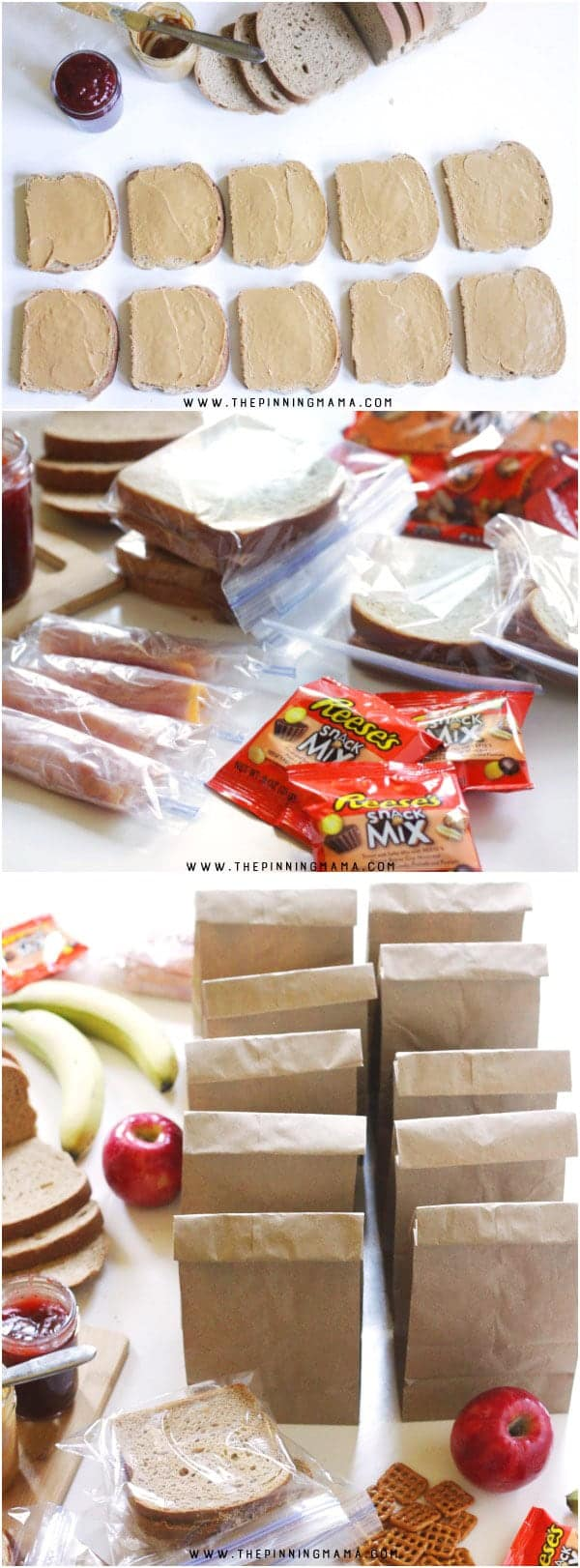 How to make freezer lunches for kids. Make the mornings 100x easier by having lunch already ready to go! This is quick, easy and my kids can even do most of the work themselves! What a great kitchen hack!