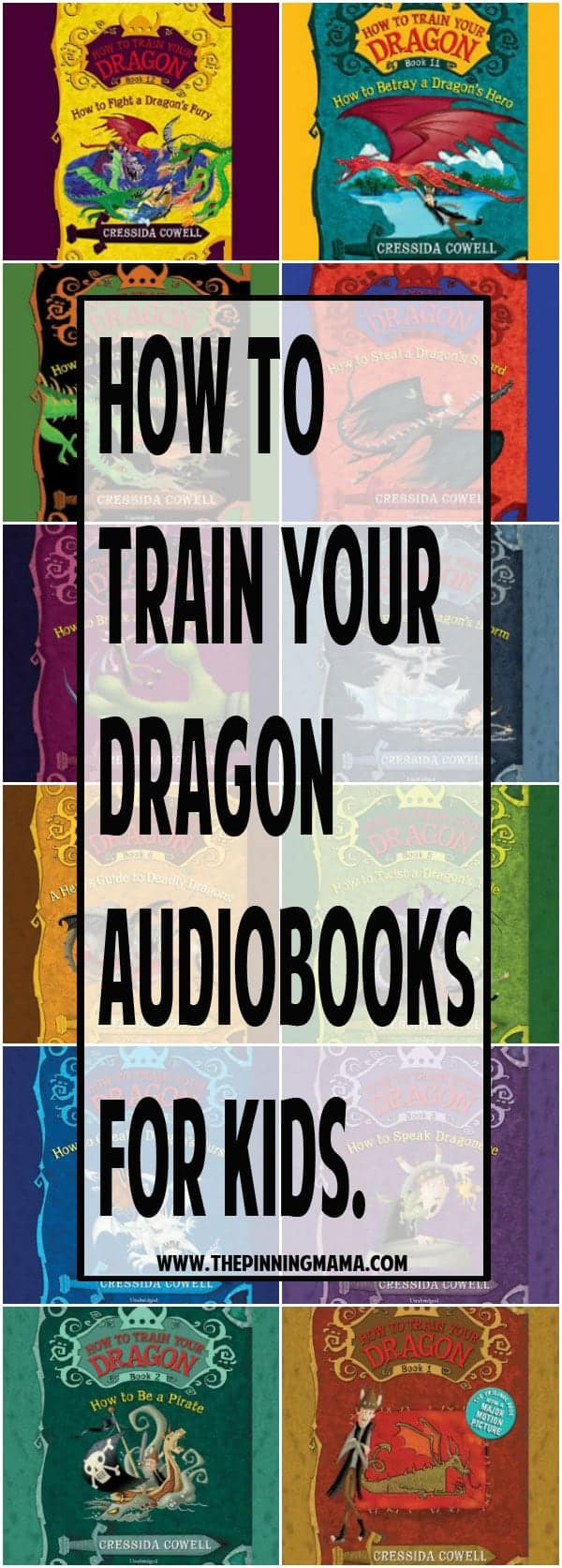 How to Train your Dragon Audio book Series. Perfect for summer road trips with kids! See more of the Best Audio Books for a Road Trip with Kids - 20+ ideas your kids will love listening to! Options for long and short trips plus series the whole family will get into!!