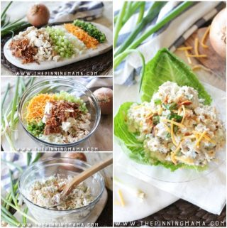 Loaded Creamy Chicken Salad