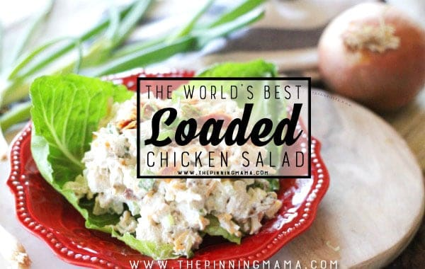 The Best Chicken Salad Recipe • The Pinning Mama