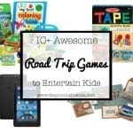 10+ Awesome Ways to Entertain Your Kids on Road Trips