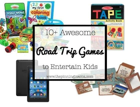 10+ Awesome Ways to Entertain your Kids on a Roadtrip  www.thepinningmama.com